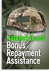National Guard Bonus Repayment Assistance